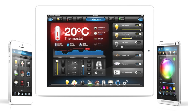 Fibaro ipad tablet mobile